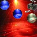 Новый RG Лазерная 2 Шаблоны Проектор Полноцветный RGB LED Воды Galaxy Dream Effect DJ Партии Сад Рождество Бар Танец Освещение Свет T32