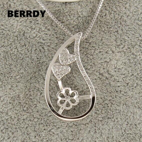Fashion Charm Pearl Pendant Settings Pendant Findings Pendant Mountings Women Accessories Female Lady Girls Jewwelry 10pcs
