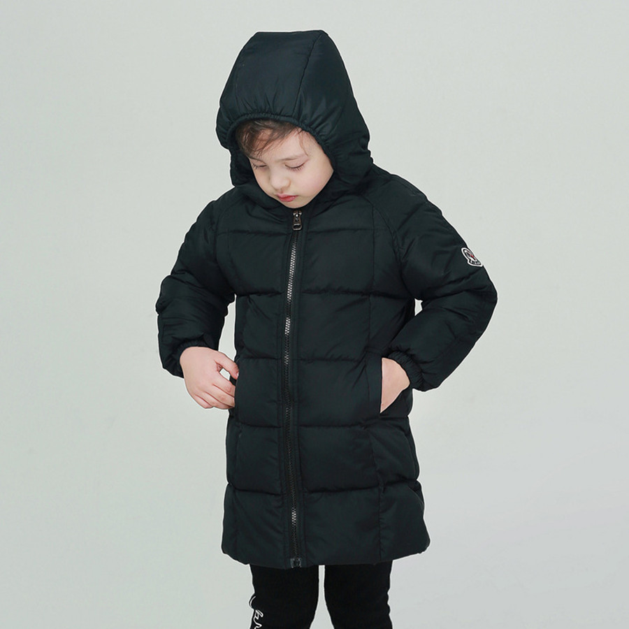 Boys Coat Fashion Army Green Warm Hooded Long Jacket Children High Quality Kids Coat Winter White Duck Down Jackets For Boys New children s toy crossbow with infrared white army green