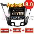 Автомобильный GPS-навигатор TOPNAVI  8 дюймов  Восьмиядерный процессор  Android 8 0  для HYUNDAI SONATA I40  I45  I50  YF 2011  Авторадио  DVD  мультимедиа  аудио