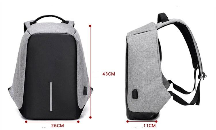 mochila de viagem anti ladrão Handle/strap Tipo : Soft Handle