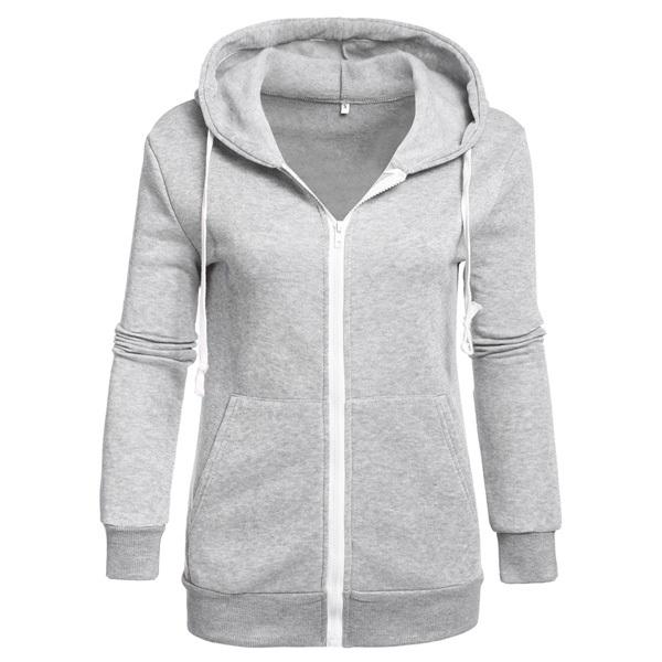 FANALA Winter Autumn Hoodies Women Tracksuit Hoodies Sweatshirts Women Long Sleeve Sweatshirts Women Thick Tops Zip Jacket 3