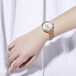 Image 5 - NAVIFORCE Women Watches Top Luxury Brand Quartz Watch Lady Fashion Leather Clock Waterproof Date Girl Wristwatch Gift for Wife