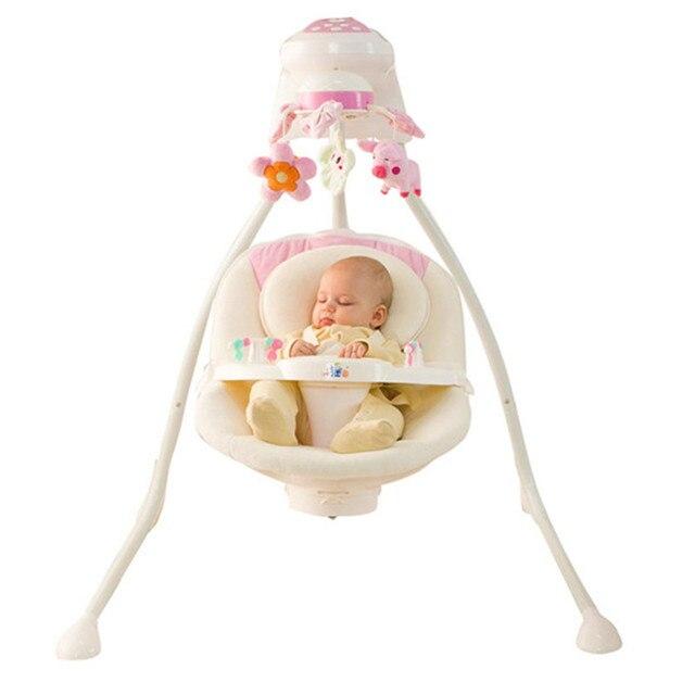 Интеллектуальная детская кроватка 3 цветов в ассортименте высокого качества ребенка кресло-качалка коробки pacakge подарок для новорожденных качели кровать ребенка