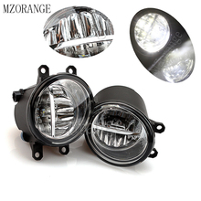 MZORANGE 2pcs Fog Light Fog Lamp For TOYOTA AVENSIS AURIS RAV 4 III CAMRY FOR Corolla PRIUS YARIS 2003-2015 Led Fog Lights beler front right side fog light lamp 81210 06050 35501 57l00 for toyota camry corolla yaris lexus gs350 gs450h lx570 lx570