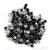 24 rodas/pack Praça Pirâmide Studs DIY Nail Art Decoração Do Punk Rebites de Metal Roda 3mm 3D 3 Cores