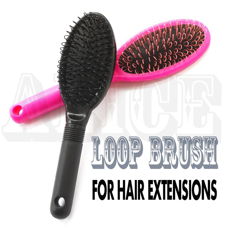 Loop Hair Comb Brush Black Wig Combs For Wig Cap Comb Hair