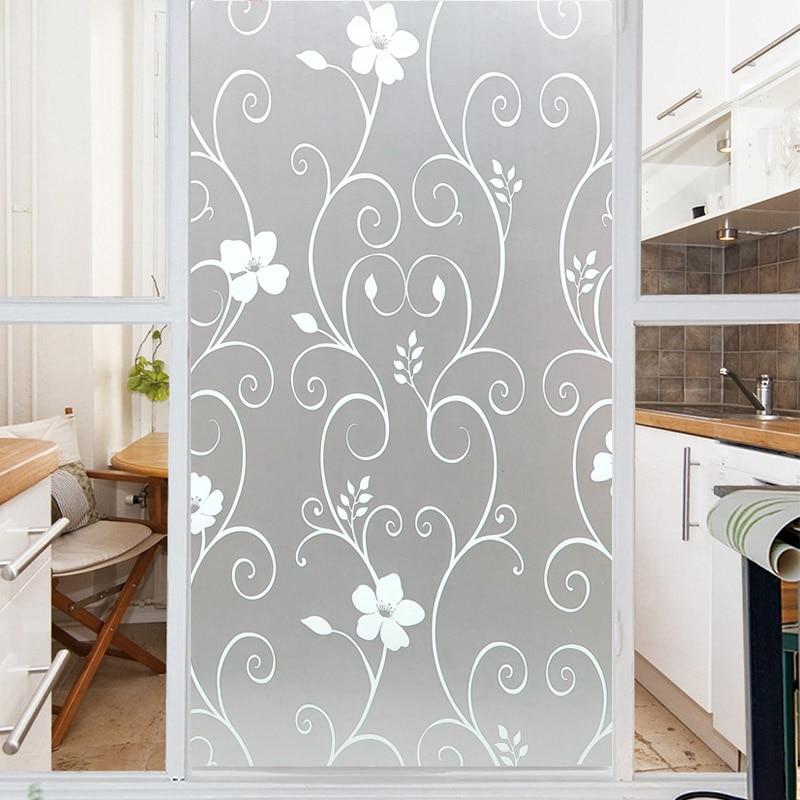 Window Sticker Privacy Protection Self Adhesive Home Decor