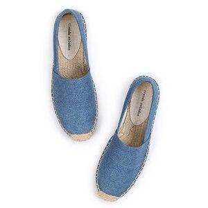 Image 5 - Schuhe Frau 2019 Direct Selling Top Fashion Leinwand Ballett Wohnungen Feste Zapatillas Mujer Espadrilles Sapatos Tienda Soludos