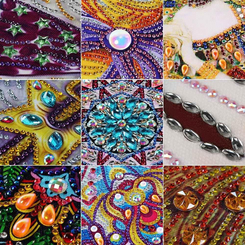 """Meian, Elmas Boyama """"Hayvanlar"""" 5D DIY Matkap Elmas Nakış Elmas Mozaik Satış, Resim, özel Diamant DP Aksesuarları Dekor"""