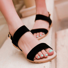 Meotina Large size 40 43 Ladies Sandals Beach Wedge Sandals Mixed Color Women Fashion Comfort Black