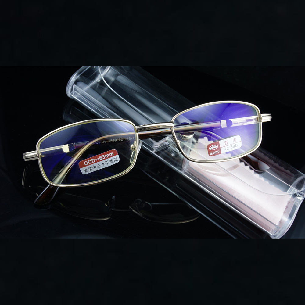 =CLARA VIDA= Alloy Full frame Glass Coated Spring TEMPLE Reading Glasses +4.5 +5 +5.5 +6 +6.5 +7 +7.5 +8 to +12
