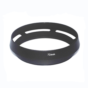 Image 1 - 10 יח\חבילה 72mm 77mm שחור מעוקל פורק מתכת מצלמה עדשת הוד ליקה M עבור Pentax עבור Sony עבור אולימפוס עבור canon עבור ניקון