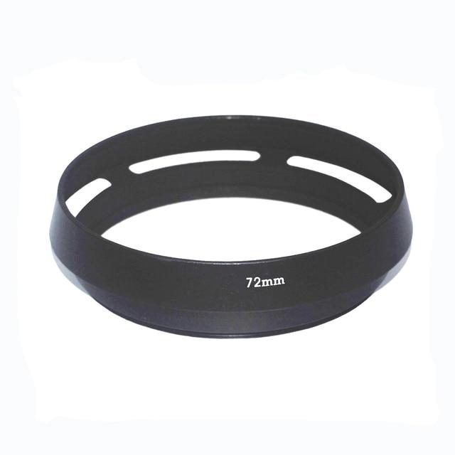 10 יח\חבילה 72mm 77mm שחור מעוקל פורק מתכת מצלמה עדשת הוד ליקה M עבור Pentax עבור Sony עבור אולימפוס עבור canon עבור ניקון