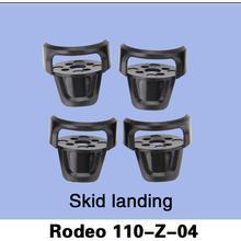 Free Shipping 100% Original Walkera Rodeo 110 Spare Parts Skid landing Rodeo 110