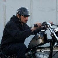 AMZ Motorcycle Helmet Japanese Super Magnum Small Jet Helmets Jocket Half Harley Cruise Capacete helmet