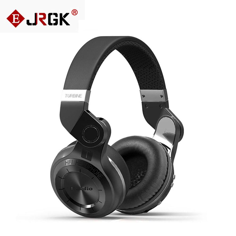 ФОТО  Bluedio T2 Bluetooth Headphone Stereo Foldable Earphone BT V4.1 EDR Noise canceling Wireless Headset With Microphone For iphone