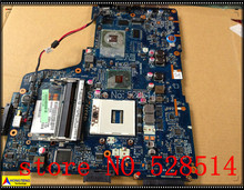 original For Toshiba Satellite A665 A660 Laptop Motherboard Mother board K000104390 NWQAA LA-6062P 100% Test ok
