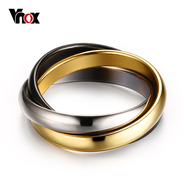 Aliexpresscom Buy Classic Wedding Bands Rings For Women 3 in 1
