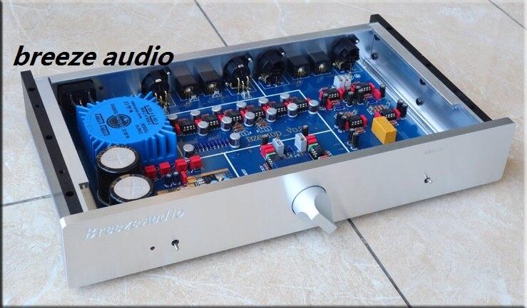 Brise audio NOUVELLE arrivée puissance préamplificateur conception comme MBL6010D/AD797/NE5534