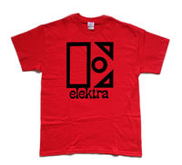 THE DOORS / ELEKTRA record label tribute T shirt Summer Men'S fashion Tee,Comfortable t shirt,Casual Short Sleeve TEE