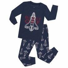 Kids Pyjama Boys Nightwear TINOLULING Baby New Full Rockets Fille