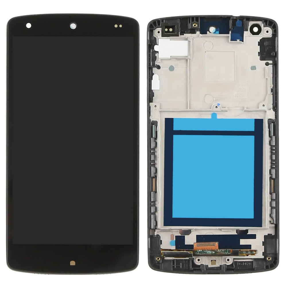 Black LCD Screen Display with Touch Digitizer + Frame assembly For LG Google Nexus 5 D820 D821 free tools and Free shipping new lcd display touch screen digitizer assembly for lg google nexus 5 d820 d821 black free shipping