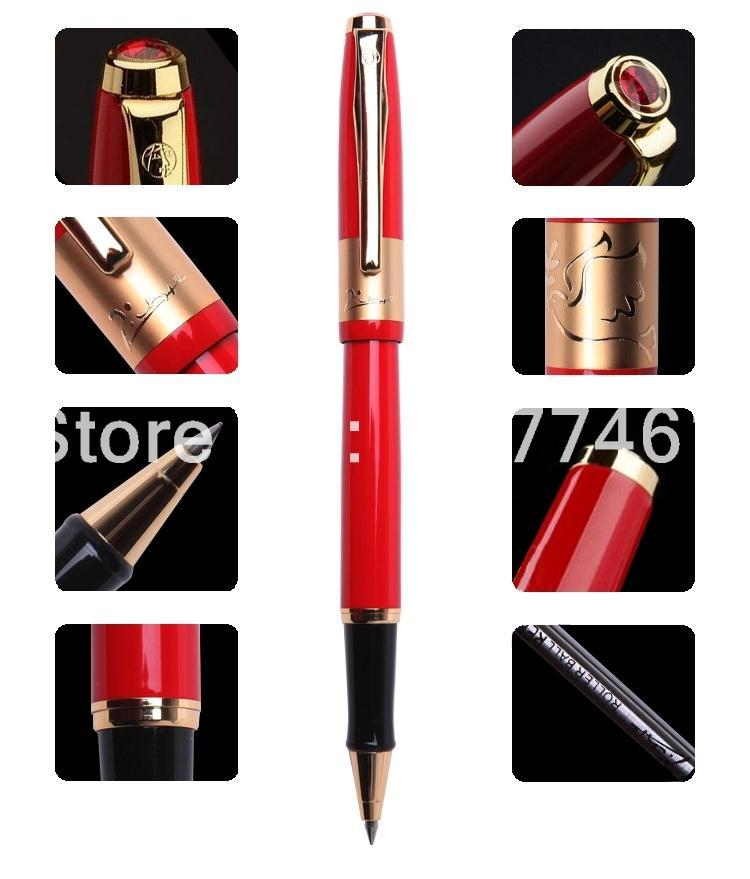 Picasso 923 Braque series Multi-color selection roller ball Pen gift the school office supplies. black blue red optional 1pc lot picasso 923 fountain pens 3 colors red black blue color metal 923 braque school office supplies brand pen 13 9cm