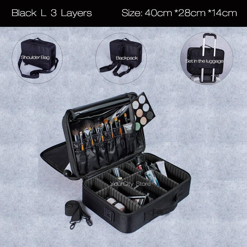 Black L 3 layers