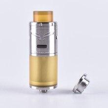 VG Shenray Extrema RTA Atomizador Cigarro Eletrônico 23mm 5 ml Gotejamento Dica para Vape Mech Tanque com 810 Pei mods Vaporizador E Cig Kit