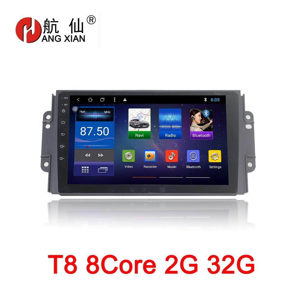 9 inch Android 8.1 Octa 8 Core 2G RAM 32G ROM Car DVD Player for Chery Tiggo 3X Car Radio GPS Navi BT WIFI Map цена