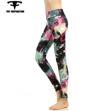 Sportswear Leggings For Women's Running Tights Printing Quick Dry Fitness Trousers Gym Clothes Training Dance Yoga Pants