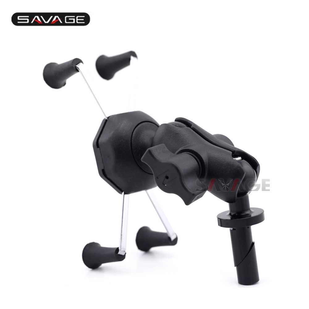 Hot Sale X Grip Phone Holder For Honda Cbr 600rr Cbr600rr 2007 2017 New Cb150r T Shirt Black Motorcycle Accessories Gps Navigation Bracket 13mm