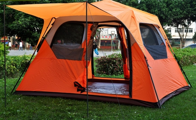 Large space 6 person one room instant set-up camping tent \outdoor tent,Wholesale