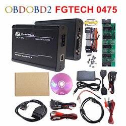 Pieno di Chip Fgtech 0475 Galletto 4 Master V54 Supporto BDM OBD Master Online FG Tech FW 0475 Chip di Messa a Punto Per La auto Camion