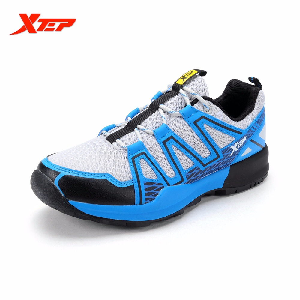 Xtep marca cross-country trail zapatos  nuevos zapatos corrientes respirables pa