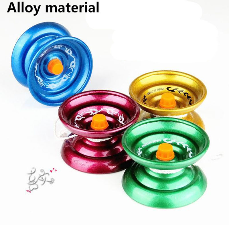 Wholesale 10PCS/a Lot Magic YoYo April Professional Gaming Metal Aluminum Yoyos 1A 3A 5A Butterfly for Boys Yo Yo Ball Toy Yo-Yo