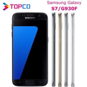 "Samsung Galaxy S7 G930F Original Unlocked 4G LTE Android Mobile Phone Exynos Octa Core 5.1"" 12MP&5MP RAM 4GB ROM 32GB WIFI GPS(China)"