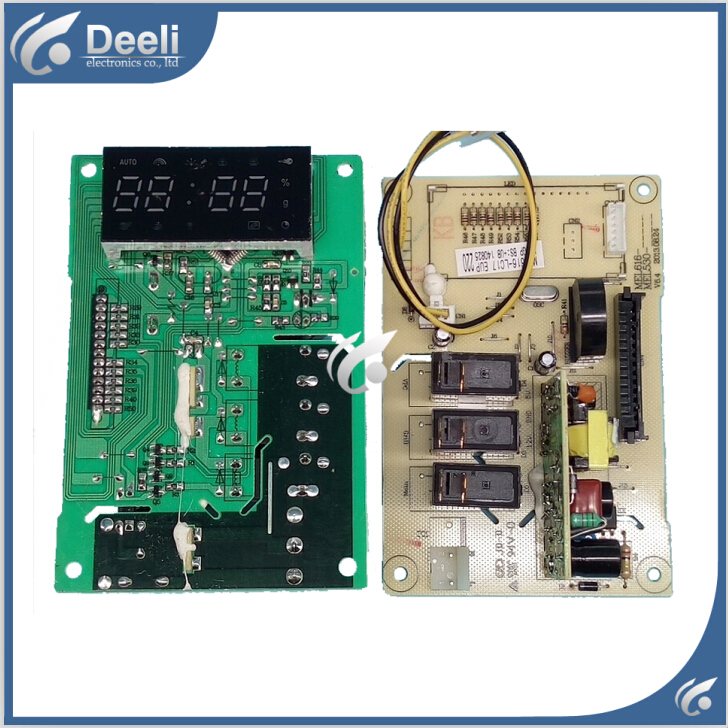 Free shipping 95% New original Microwave Oven computer board MEL301-LCQ8 LCQ7 G80F23CN2P-BM1(SO) control mainboard