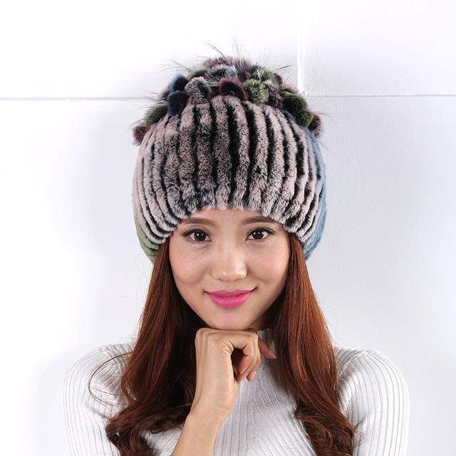 Mulheres de lã chapéu de lã chapéu versão Coreana do simples tampas de chapelaria bolas de Pelúcia bonito Cozy Mulheres Chapéu gorro de lana