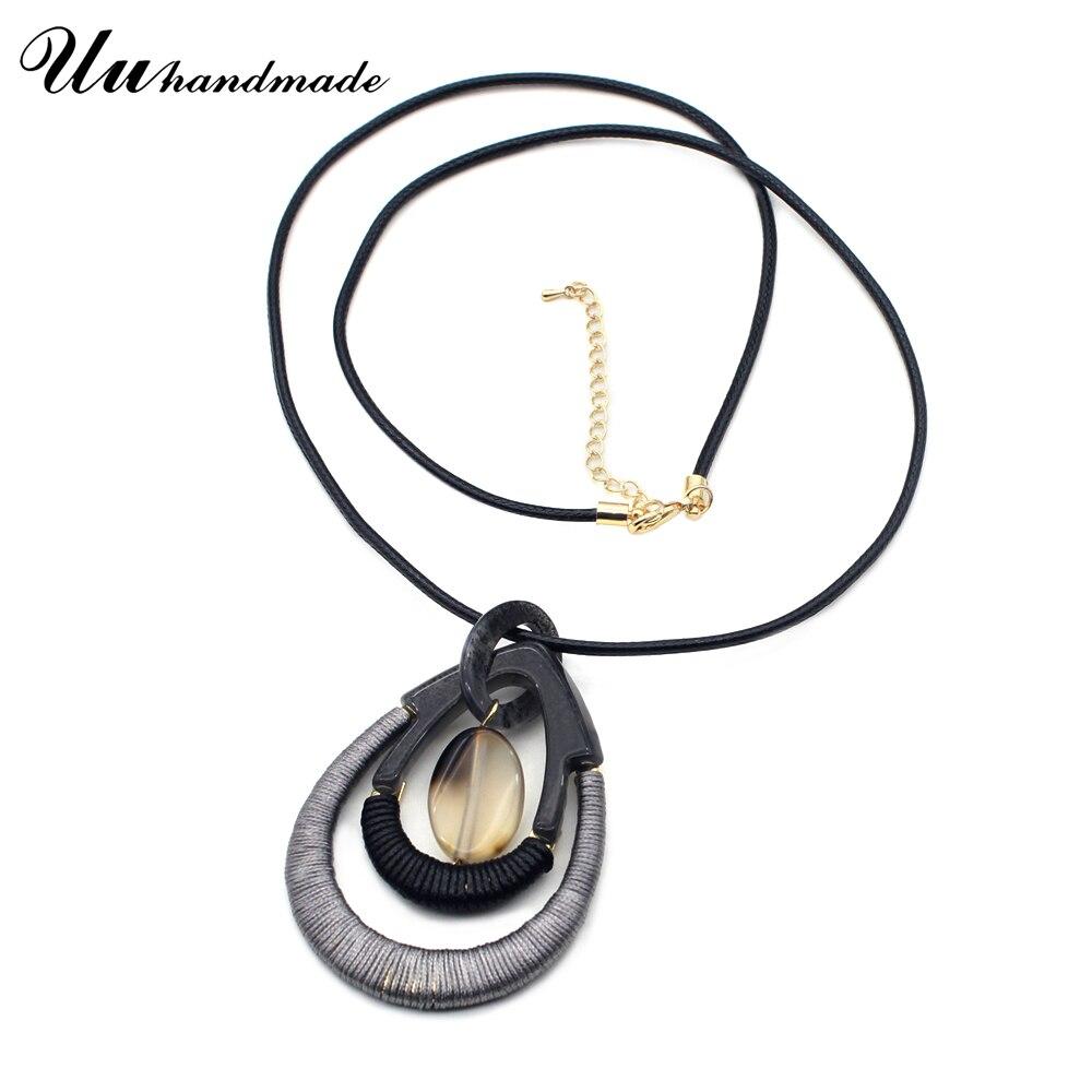 2018 Sale Collares Kolye Chain Necklace Pendant Necklaces Pendants Jewelry Maxi Charms Women Collier Bijoux Femme For Pingente