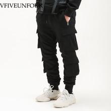 VFIVEUNFOUR 2019 New Arrivals pants street wear hip hop pockets joggers cargo men track trousers  mens clothing