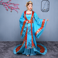 New Style Antique Women Princess Dress Chinese Traditional Costume for Stage Orient Ancient Queen Dance Clothing Fairl Outfit 90