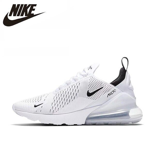 Nike Air Max 270 180 corriendo Zapatos de deporte al aire libre zapatillas de deporte blanco cómodo transpirable amortiguación para hombres AH8050-100