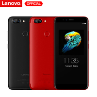 Lenovo S5 K520 4 Гб ОЗУ 64 Гб ПЗУ мобильный телефон двойной задний 13MP + передний 16MP Лицо ID 18:9 полный экран 4 K видео смартфон