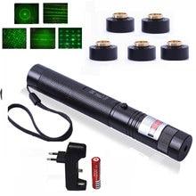 купить Laser Pointer 532nm Green Llight Stars Green Laser Pointer Flashlight Camping Tools for Hunting /Teaching/ Meeting Lazer Pen по цене 281.14 рублей