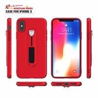 2018 Новый роскошный чехол для iPhone X Обложка Kickstand TPU Чехлы для iPhone 8 Plus/7/6 S /5S основа обладатель премии оптовая продажа 100 шт./лот