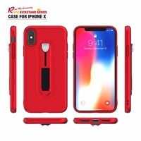 2018 NEW Luxury Case For iPhone X Cover Kickstand TPU Cases For iPhone 8 Plus/7/6S/5S Shell holder premium wholesale 100PCS/lot