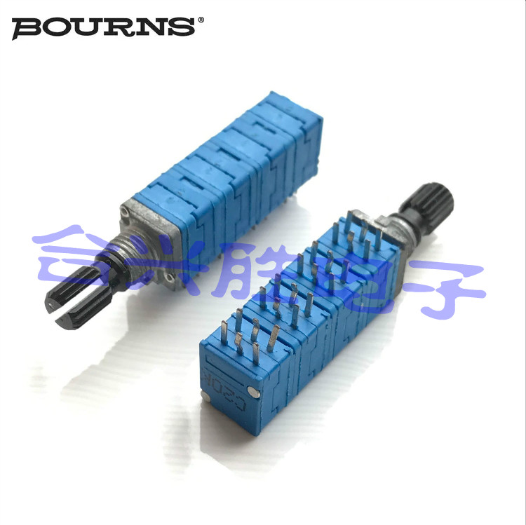 US BOURNS original PTD908 precision potentiometer Octal C20K*8 multi-channel potentiometer shaft length 15MM switch image