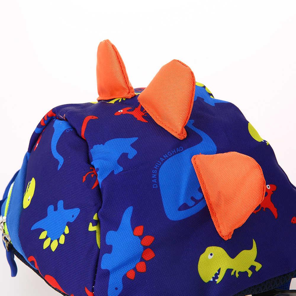 Новая мультяшная игрушка-динозавр с принтом Маленький милый школьный рюкзак сумки для детского сада для девочек и мальчиков, школы Juguetes